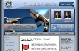 DUI Attorney Blog Design