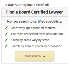 find a board certified attorney on Lawyer Legion