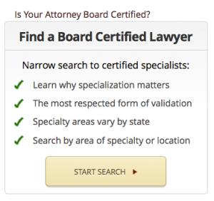 find a board certified attorney on Lawyer Legion