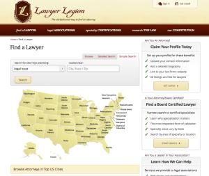 Lawyer Legion Directory of Board Certified Attorneys