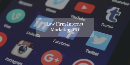 How Internet Marketing Benefits Your Law Firm